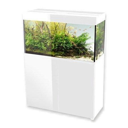 aquarium aquael glossy 100 blanc 215 litres