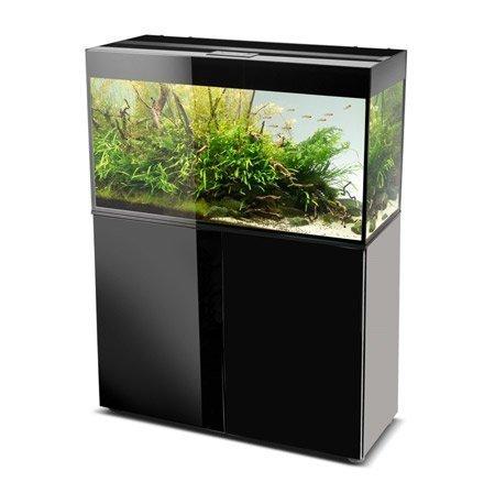 aquarium aquael glossy 100 noir 215 litres