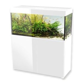 aquarium aquael glossy 120 blanc 260 litres