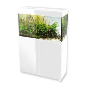 aquarium aquael glossy 80 blanc 125 litres