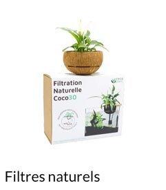 filtres naturels d'aquaponie