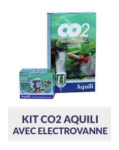 kit co2 aquili avec electrovanne pour plantes aquatiques