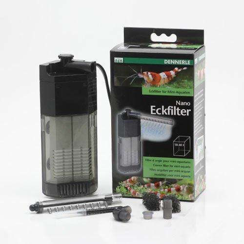 Dennerle nano clean eckfilter filtre d'angle pour aquarium