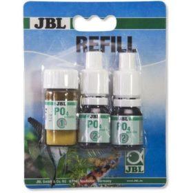 recharge jbl test po4 phosphates pour aquarium