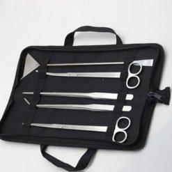 trousse aquascaping 5 outils en acier inoxydable