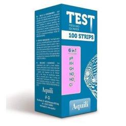 aquili test 6 en 1 bandelette pour aquarium