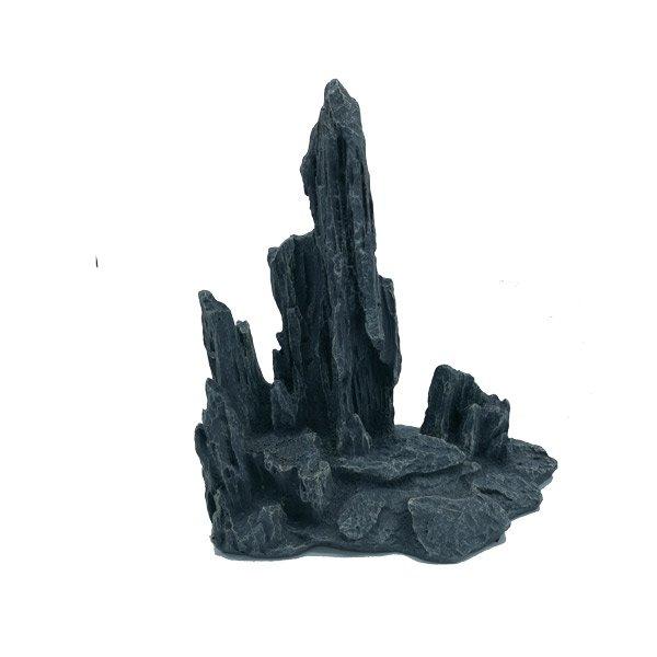 montagne de pierre décoration eau douce