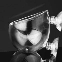 pot en verre décoratif pour aquarium