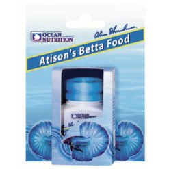 atison's betta food 15gr ocean nutrition