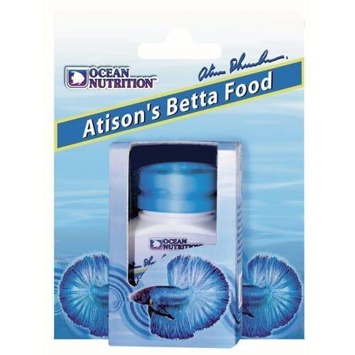 atison's betta food 15gr ocean nutrition