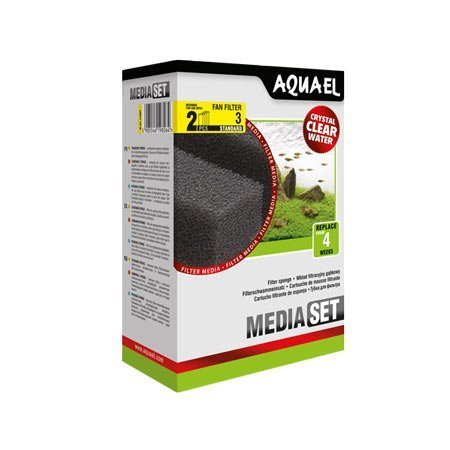 Aquael Fan 3 plus filter mousse de rechange