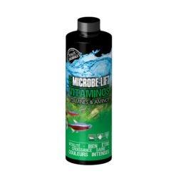 microbe-lift vitaminos citamines et minéraux pour aquarium