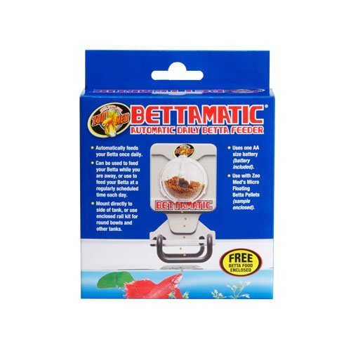 ZooMed Bettamatic distributeur nourriture poisson combattant