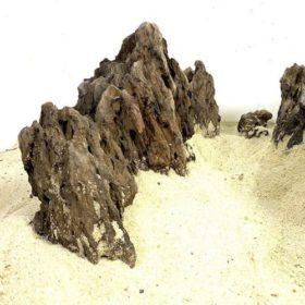 dragon stone noire pierre décorative aquarium