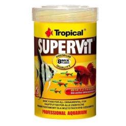tropical supervit nourriture en paillettes pour poissons tropicaux