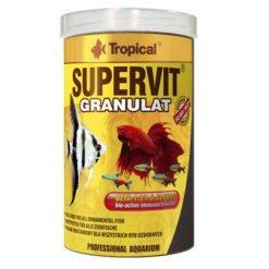 tropical supervit granulat nourriture en granulés pour poissons tropicaux