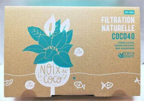 cocoplant coco 40 filtre aquarium