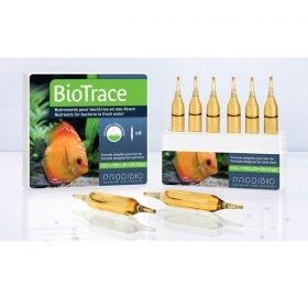 prodibio biotrace 6 ampoules nutriments pour bactéries d'aquarium