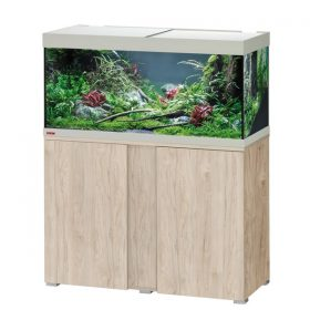 aquarium eheim vivalin 180 meuble pin
