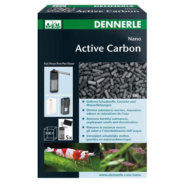 dennerle active carbon 300ml charbon pour aquarium