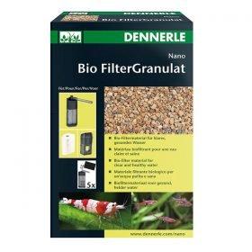 dennerle bio filtergranulat 300ml pour aquarium