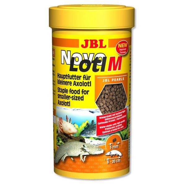 jbl novolotl M 250ml nourriture axolotls