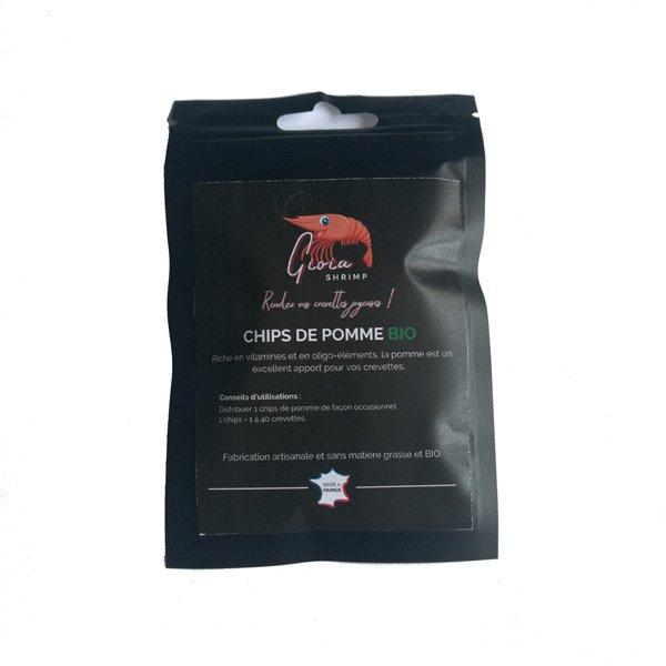 gioia shrimp chips de pomme bio