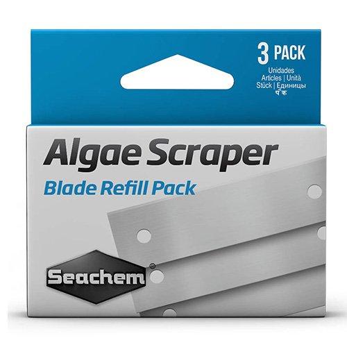 Seachem 3 lames de rechange pour Algae Scraper