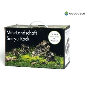 AquaDeco Pack de Seiryu Rock pour aquarium jusqu'à 60L