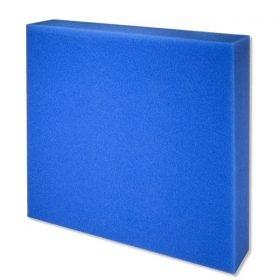 JBL Mousse filtrante bleu à maille fine 50x50x10cm