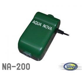 Aqua Nova NA-200 pompe à air pour aquarium jusqu'à 250L