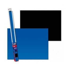 Aqua Nova Poster de fond Noir/Bleu 150x60 cm