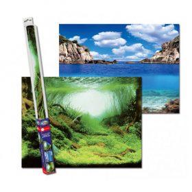 Aqua Nova Poster de fond Plante/Océan 100x50 cm
