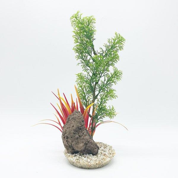 Sydeco Aquaplant Rock XL vert - 30cm
