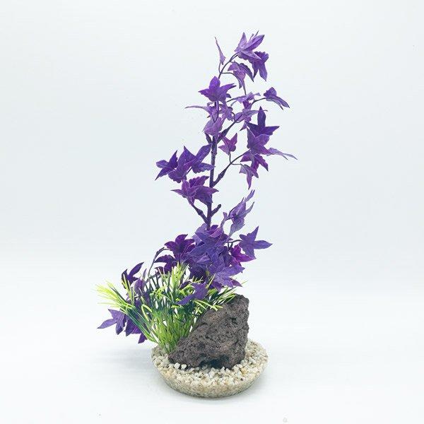 Sydeco Aquaplant Rock XL violet - 30cm